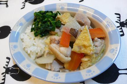 鶏肉と大根と油揚げの煮物