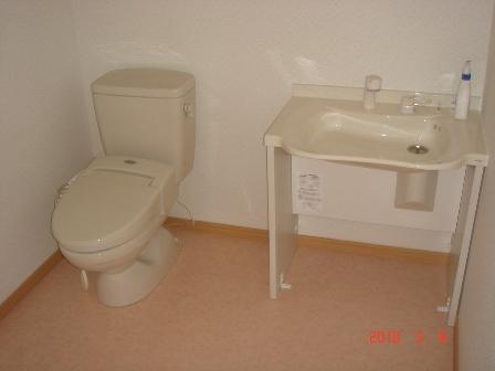 原邸トイレ完工