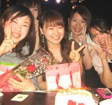 友達同士で誕生日パーティー・お誕生日会
