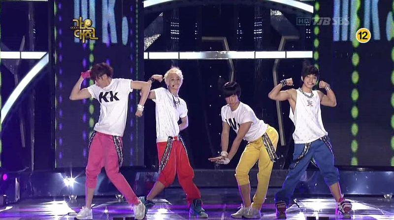 2PM, 2AM, BEAST, SJ, SHINee, MBLAQ - 20091229 - SIGN, Muzik, Mr, Gee, BPBP on S OYAG.avi_000279646
