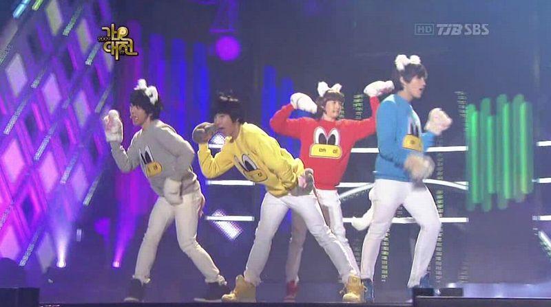 2PM, 2AM, BEAST, SJ, SHINee, MBLAQ - 20091229 - SIGN, Muzik, Mr, Gee, BPBP on S OYAG.avi_000425224
