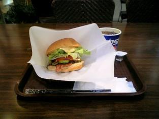 ザッツバーガーカフェ アボカドチーズバーガーセット002