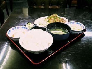 中華一番 生姜焼き定食002