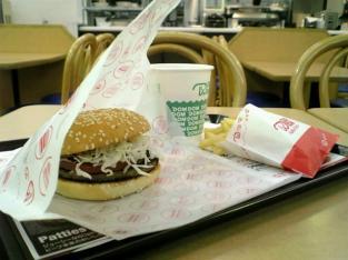 ドムドムハンバーガー サウザン野菜バーガー 8種の野菜のミネストローネ006