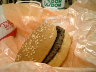 ドムドムハンバーガー ハンバーガー002