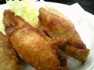 中華一番で鶏皮揚げ餃子003
