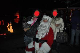 with Santa