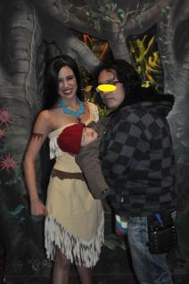 Pocahontas と汐さんとパパ