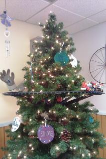 X'mas tree at Daycare