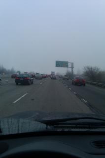 Foggy Sacramento