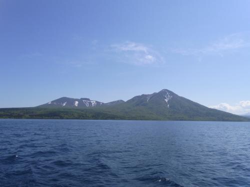 樽前山と風不死岳
