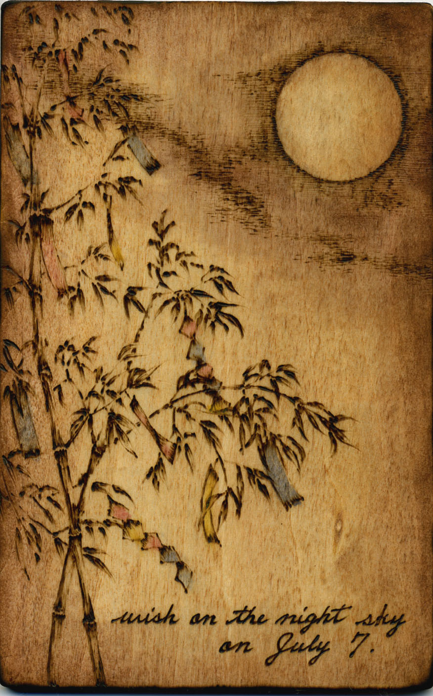 七夕―夜空に願いを