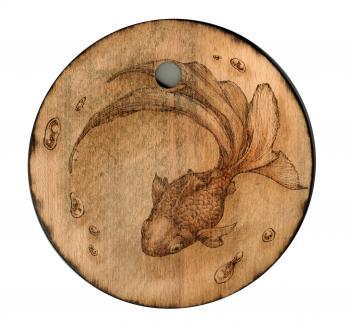 金魚 丸板