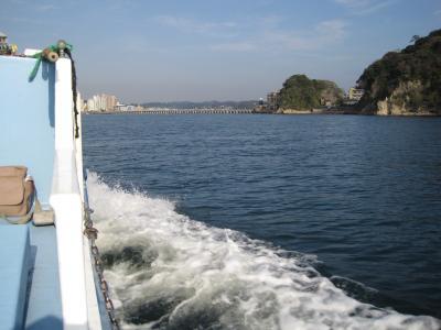 江ノ島からの帰り