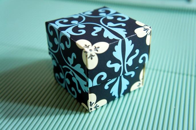 すべての折り紙 紙の箱の折り方 : 簡単DIY】手作り可愛い 箱の ...