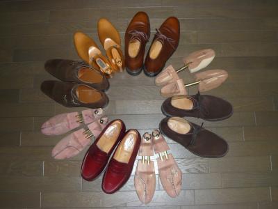 靴とシュツリー