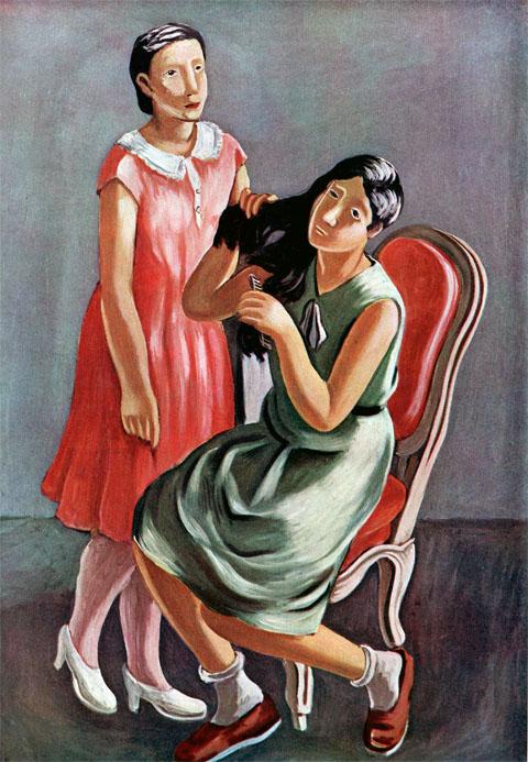 二人少女(1931)高畠達四郎