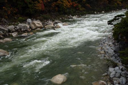 すごく雄大な木曽川