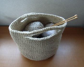 20110319カゴ毛糸