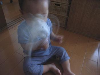 20110614ひつじ巾着とharu4