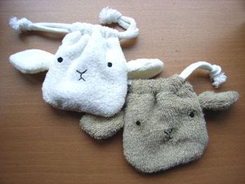 20110617ひつじ巾着2種