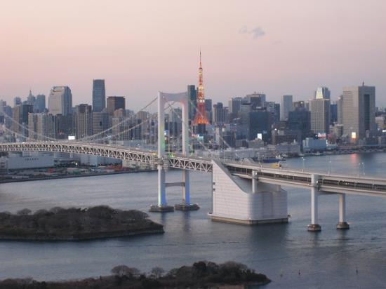 2010/01/02フジTVから東京タワー