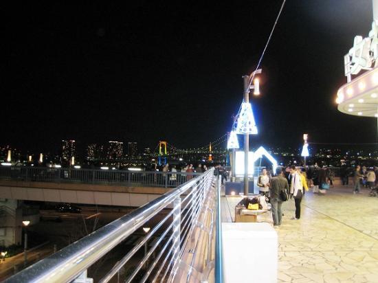 2010/01/02お台場ベイブリッジ夜景1