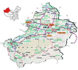 タクラマカン地図