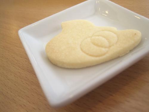 喫茶店のクッキー