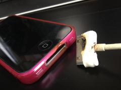 iphone4S発火