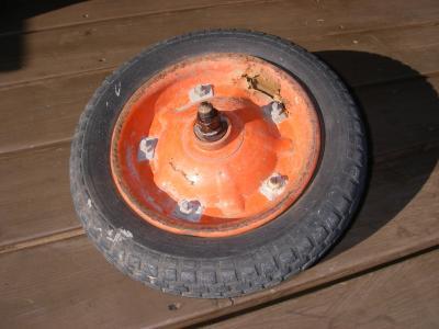 旧 タイヤ