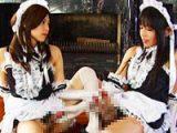 チンポとマンコを持つメイド姉妹の衝撃的セックス映像!