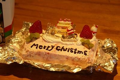20091220 ケーキ