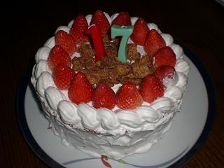 17ケーキ