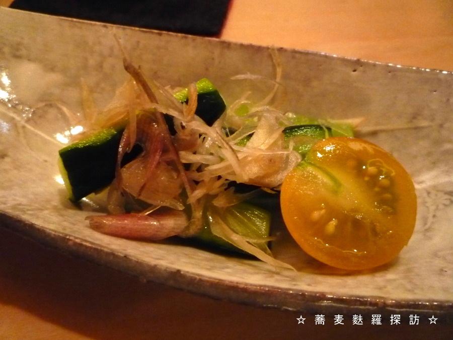 3.八重洲 おにわか (蕎麦屋の漬物)