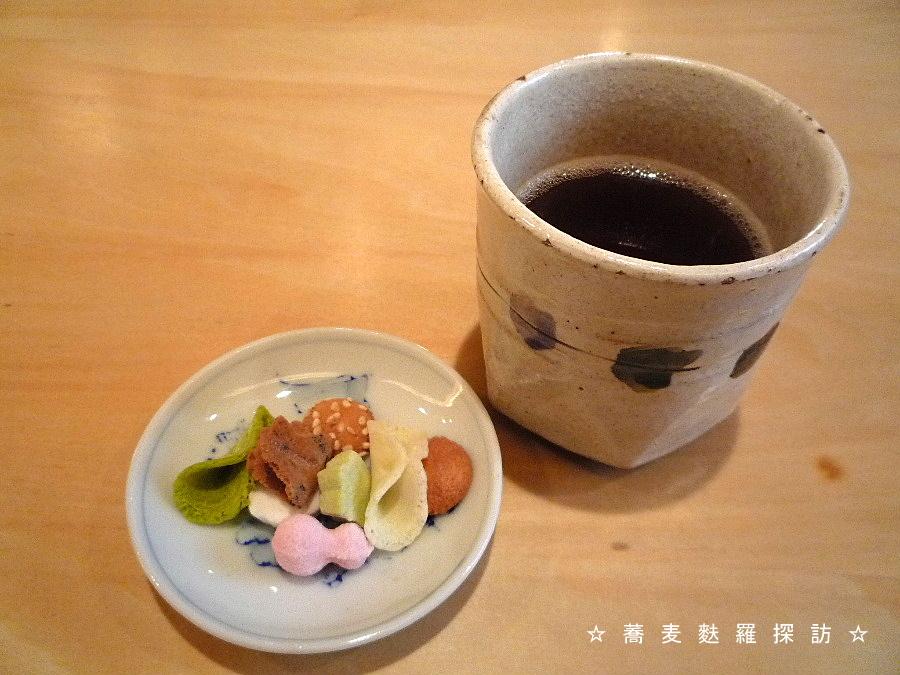 5.八重洲 おにわか (お茶&菓子)