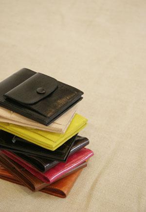 ポケット付財布