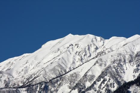 雪山のUP!