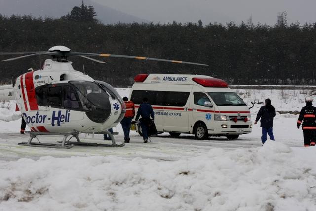 救急隊との救命のリレー