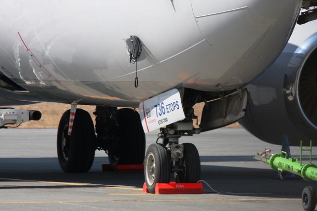 コンチネンタル航空「B737-700」
