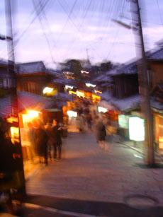 京の町並み