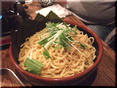 〆のつけ麺♪