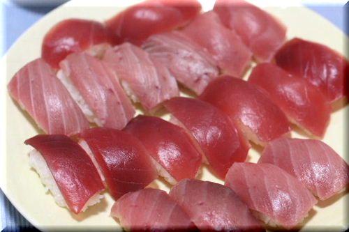マグロのお寿司♪