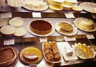 豊富なケーキ