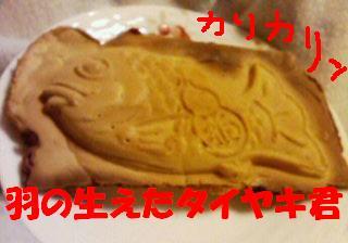 羽根の生えた鯛
