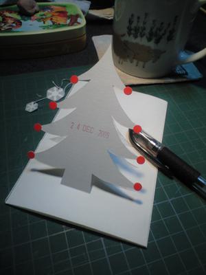 クリスマスカード★
