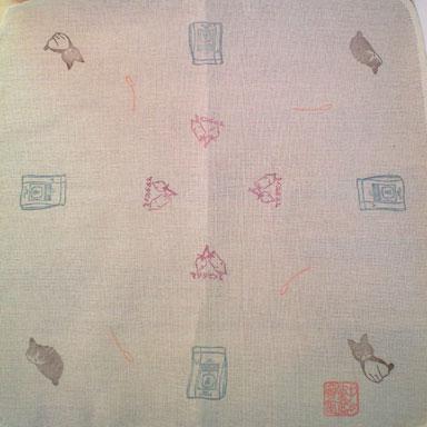 ボクの好きなもの(陸ver.)判子布巾