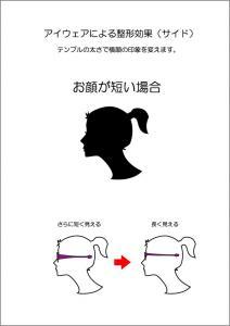 美人化横顔2