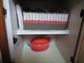 元鍋収納スペース