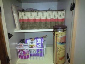 食品収納スペース